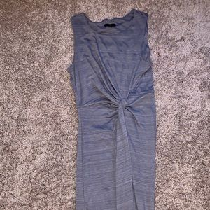 Bodycon grey dress